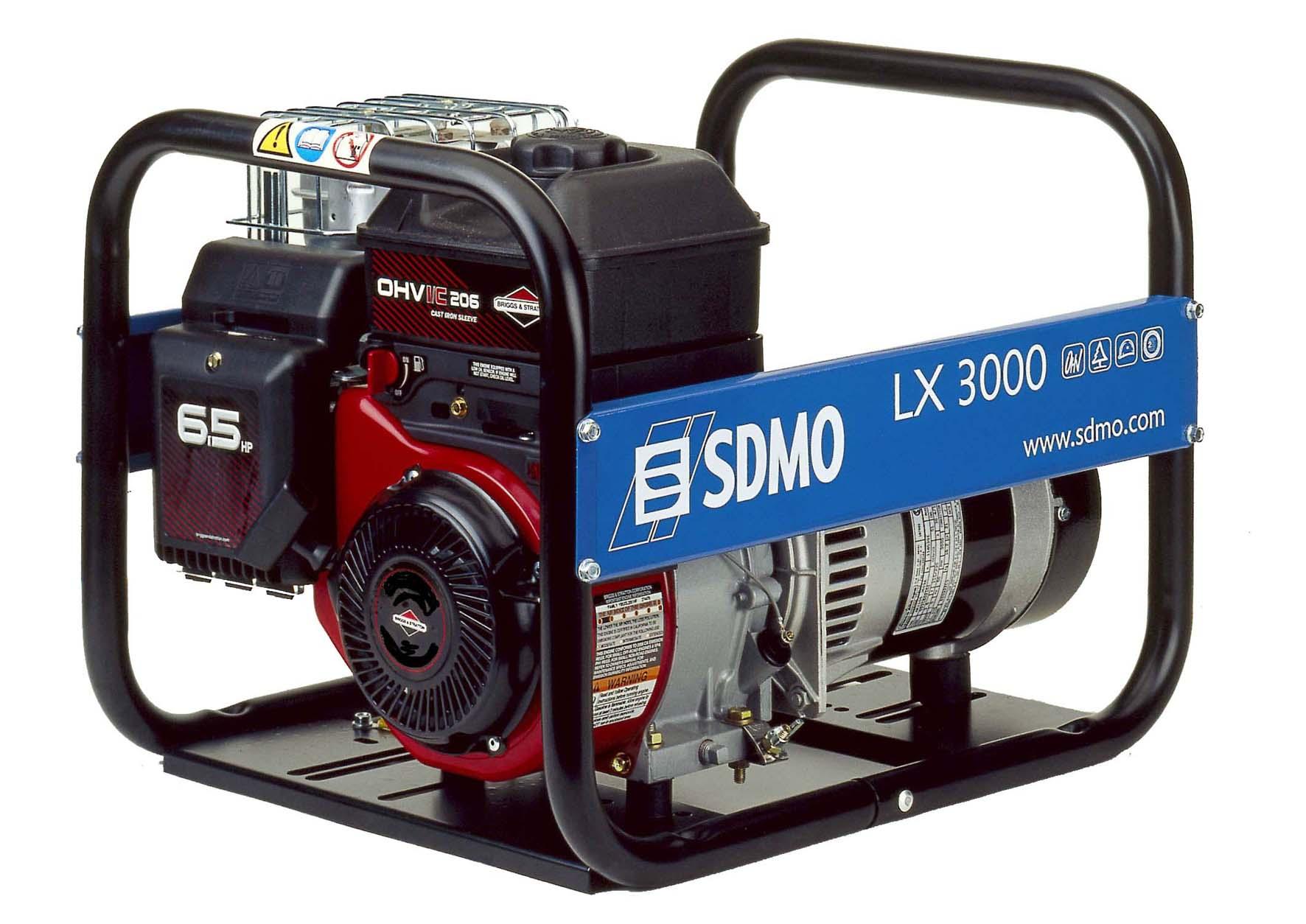 электрогенератор  Sdmo 3000
